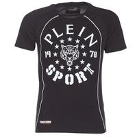 Abbigliamento Uomo T-shirt maniche corte Philipp Plein Sport LIONEL Nero / Bianco
