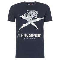 Abbigliamento Uomo T-shirt maniche corte Philipp Plein Sport BORIS Marine / Argento