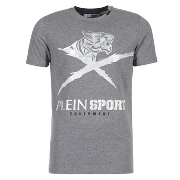 Abbigliamento Uomo T-shirt maniche corte Philipp Plein Sport BORIS Grigio / Argento