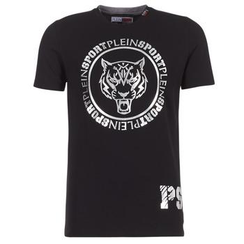 Abbigliamento Uomo T-shirt maniche corte Philipp Plein Sport IVAN Nero / Argento