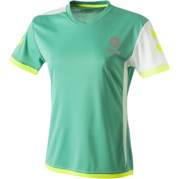 Abbigliamento Donna T-shirt maniche corte Hummel Maillot Femme  Trophy vert/blanc