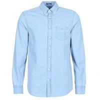 Abbigliamento Uomo Camicie maniche lunghe Gant THE INDIGO REG Blu