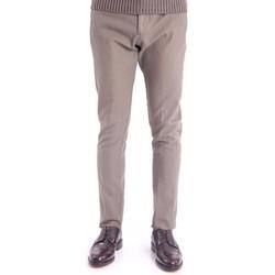 Abbigliamento Uomo Pantaloni Berwich PANTALONE COTONE NIDO D APE BEIGE- PEPPLONG  MODEL Beige