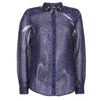 Abbigliamento Donna Camicie Guess BORICE Blu