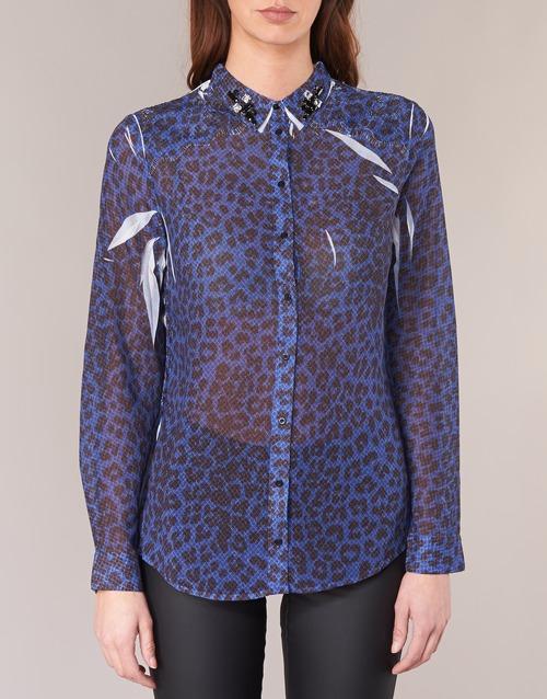 Guess Blu Abbigliamento Gratuita Donna Camicie Borice 4000 Consegna eW9YIHDbE2