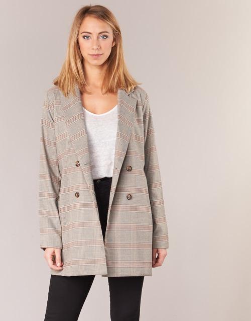 Betty London  Beige - Consegna gratuita     Spartoo    - Abbigliamento Giacche   Blazer donna 22,50 55c
