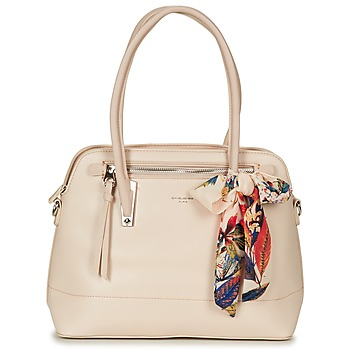 Borse Donna Borse a spalla David Jones ROIKI Beige