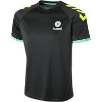 Abbigliamento Uomo T-shirt maniche corte Hummel Maillot  Trophy noir/vert/jaune