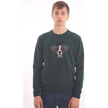 Abbigliamento Uomo Maglioni Altea MAGLIA VERDE Green