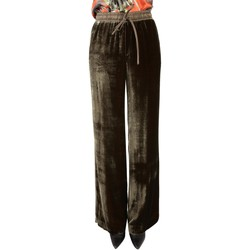 Abbigliamento Donna Chino P.a.r.o.s.h. P.A.R.O.S.H. PANTALONI DONNA ROXETTED230229007          VERDE