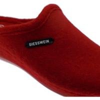 Scarpe Donna Ciabatte Giesswein 68/10/49304 362 JENA ciabatta  panno rosso zeppa rosso
