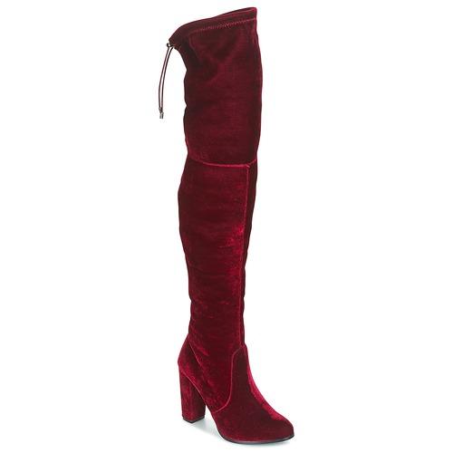 Buffalo  Rosso  Scarpe Stivali a metà coscia Donna 50