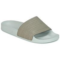 Scarpe ciabatte adidas Originals ADILETTE Beige / Verde