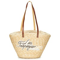 Borse Donna Tote bag / Borsa shopping Les Tropéziennes par M Belarbi MILOS Beige