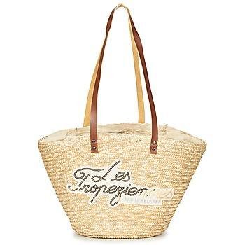 Borse Donna Tote bag   Borsa shopping Les Tropéziennes par M Belarbi MILOS  Beige 31b72ddb09c