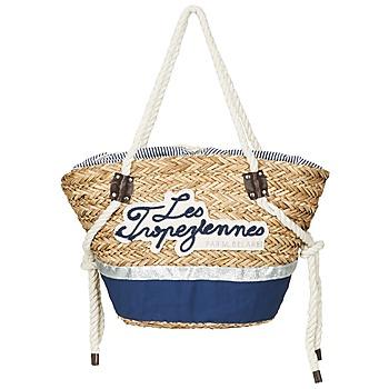 Borse Donna Tote bag / Borsa shopping Les Tropéziennes par M Belarbi AUDENGE Beige / Marine
