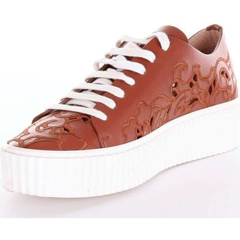Scarpe Donna Sneakers basse Pinko 1H209MY396 Sneakers Donna Cuoio Cuoio