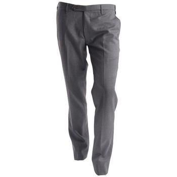 Abbigliamento Uomo Chino Rota PANTALONI  GRIGIO SCURO IN TELA TASMANIA Grey