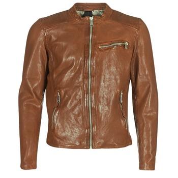 Abbigliamento Uomo Giacca in cuoio / simil cuoio Redskins CROSS Cognac