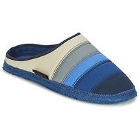 Scarpe Donna Pantofole Giesswein AZUSA Blu / Beige