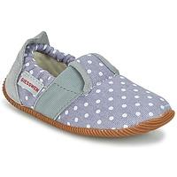 Scarpe Bambina Pantofole Giesswein SILZ - SLIM FIT Grigio