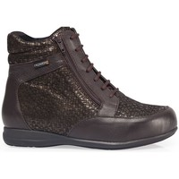 Scarpe Donna Sneakers alte Calzamedi STIVALI  DIABETICI DOPPIA SCALA ZIPPER W MARRON