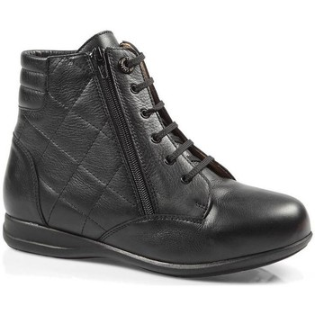 Scarpe Donna Sneakers alte Calzamedi STIVALI  DIABETICI DOPPIA SCALA ZIPPER W NEGRO