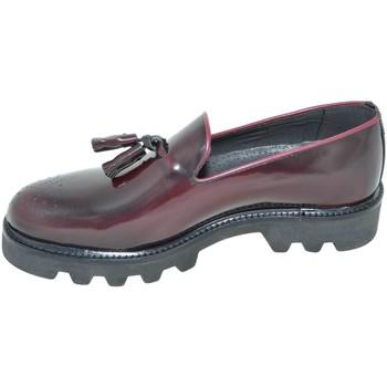 Scarpe Uomo Mocassini Malu Shoes Calzature uomo scarpe art.323 mocassino abrasivato lucido bordea ROSSO