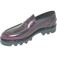 Scarpe Uomo Mocassini Malu Shoes Calzature uomo scarpe art.3432 mocassini college con bendina bor ROSSO