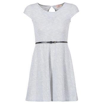 Abbigliamento Donna Abiti corti Moony Mood IKIMI Bianco / Marine