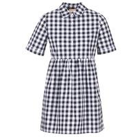 Abbigliamento Donna Abiti corti Moony Mood IKAMAL Bianco / Nero