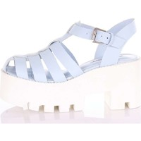 Scarpe Donna Sandali Windsor Smith FLUFFY Sandali Donna Blu Blu