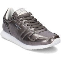 Scarpe Donna Sneakers basse Pepe jeans Gable Argento