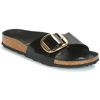 Scarpe Donna Ciabatte Birkenstock MADRID BIG BUCKLE Nero