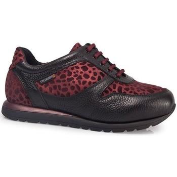 Scarpe Donna Sneakers basse Calzamedi ORO BORDEAUX SCARPE SPORTIVE W BORDEAUX