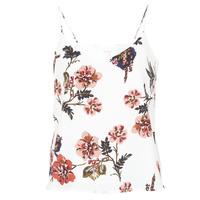 Abbigliamento Donna Top / T-shirt senza maniche Moony Mood IDARI Bianco