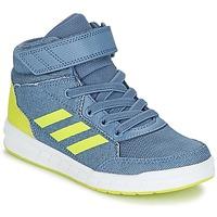 Scarpe Bambino Sneakers alte adidas Performance ALTASPORT MID EL K Blu