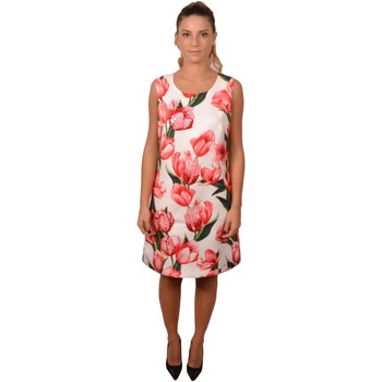 Abbigliamento Donna Abiti lunghi Allure &nbsp;Woman Black Short&nbsp;Elegant Flower Dress<BR/>203400<BR/ Altri