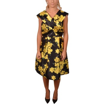 Abbigliamento Donna Abiti lunghi Allure Elegant Short Black Dress with Yellow Flowers<BR/> 203500<BR/> Altri