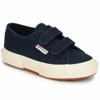 Scarpe Bambino Sneakers basse Superga 2750 STRAP MARINE