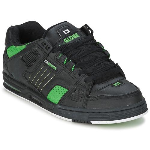 Globe SABRE. 87.96. Scarpe Uomo Sneakers basse Globe SABRE Nero / Verde