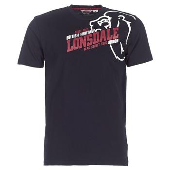 Abbigliamento Uomo T-shirt maniche corte Lonsdale WALKLEY Nero