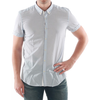 Abbigliamento Uomo Camicie maniche corte Antony Morato AMT05200 Azul claro