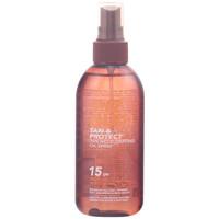 Bellezza Protezione solari Piz Buin Tan & Protect Oil Spray Spf15  150 ml