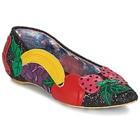 Scarpe Donna Ballerine Irregular Choice BANANA BOAT Nero