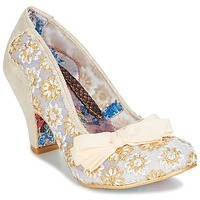 Scarpe Donna Décolleté Irregular Choice PALM COVE Beige