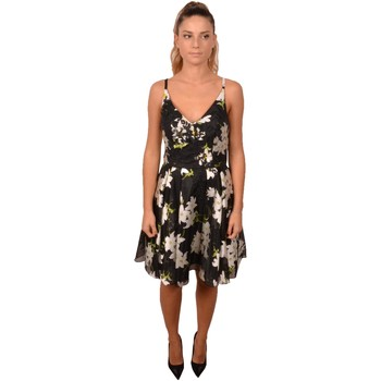Abbigliamento Donna Abiti corti Allure Women Short Black Dress White Flower Print Lace in the Front<BR Altri