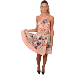 Abbigliamento Donna Abiti corti Allure Woman Pink Short Flower Print Lace&nbsp;Dress<BR/> 224000<BR/> Rosa