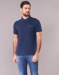 Abbigliamento Uomo Polo maniche corte Casual Attitude ITATATO Blu