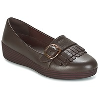 Scarpe Donna Mocassini FitFlop LOAFER/MOC Chocolate / Brown
